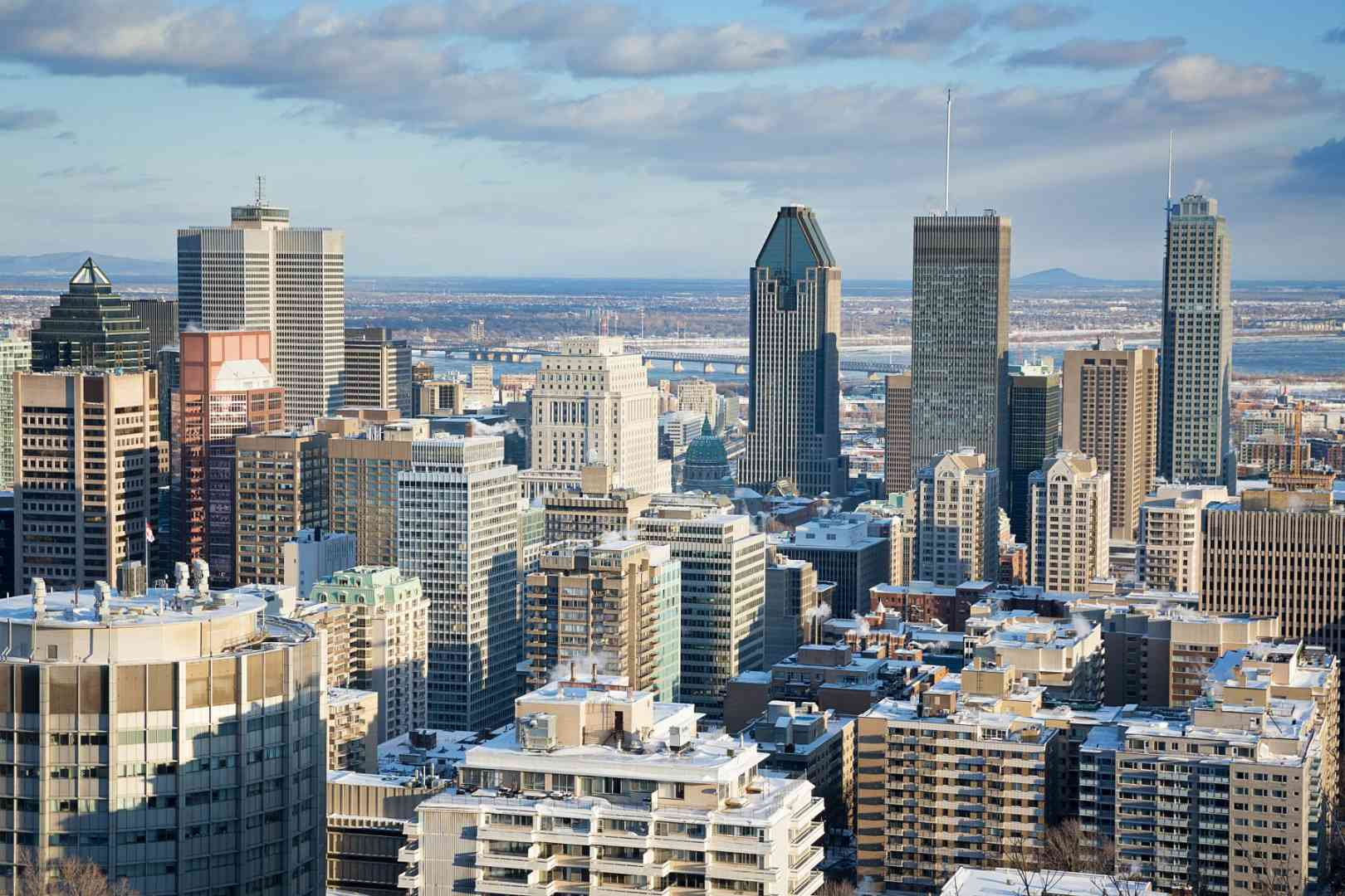 Montreal Financial District